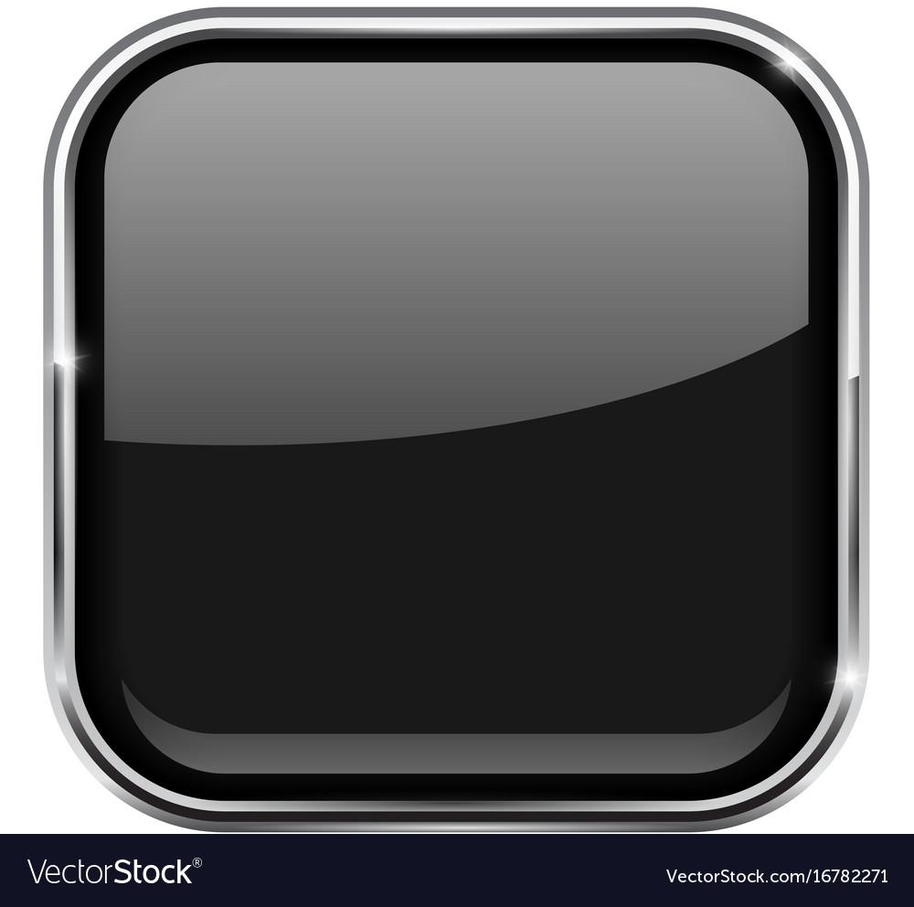 https://cdn2.vectorstock.com/i/1000x1000/22/71/black-square-button-shiny-3d-icon-with-metal-vector-16782271.jpg 3d