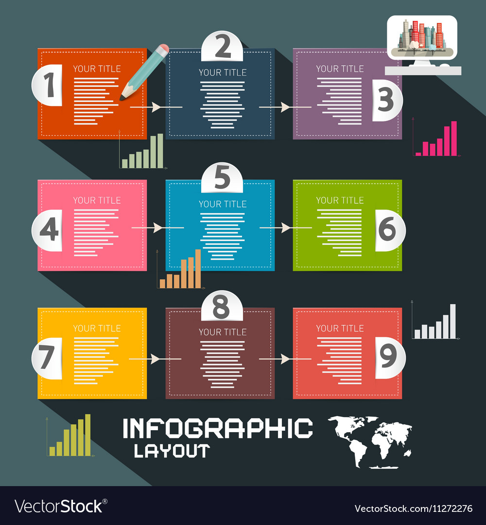 Infographics Template Paper Infographic Layout