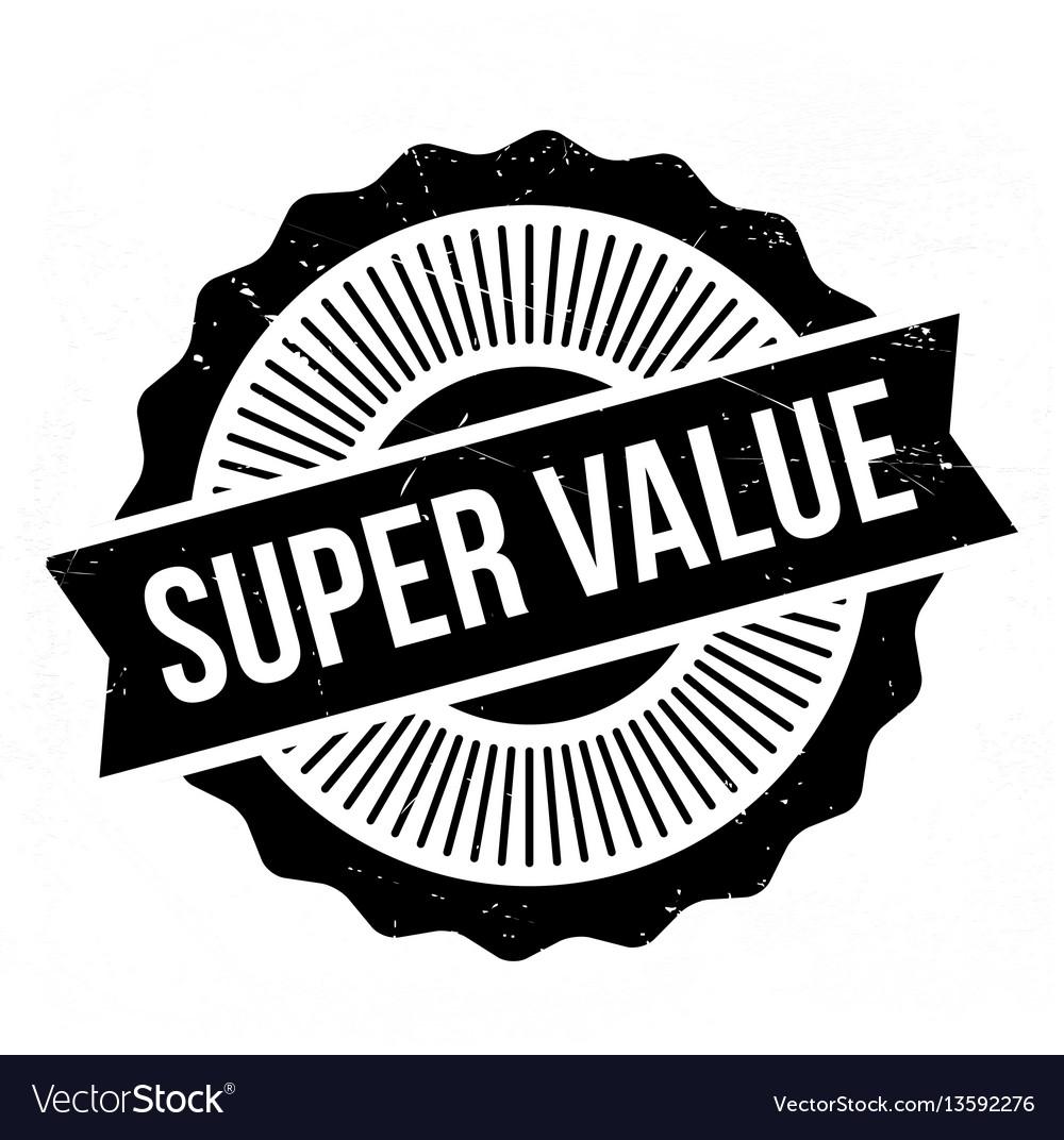Super value rubber stamp