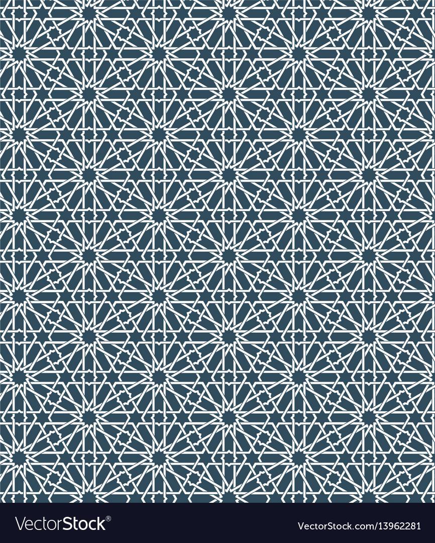 Seamless islamic moroccan pattern arabic