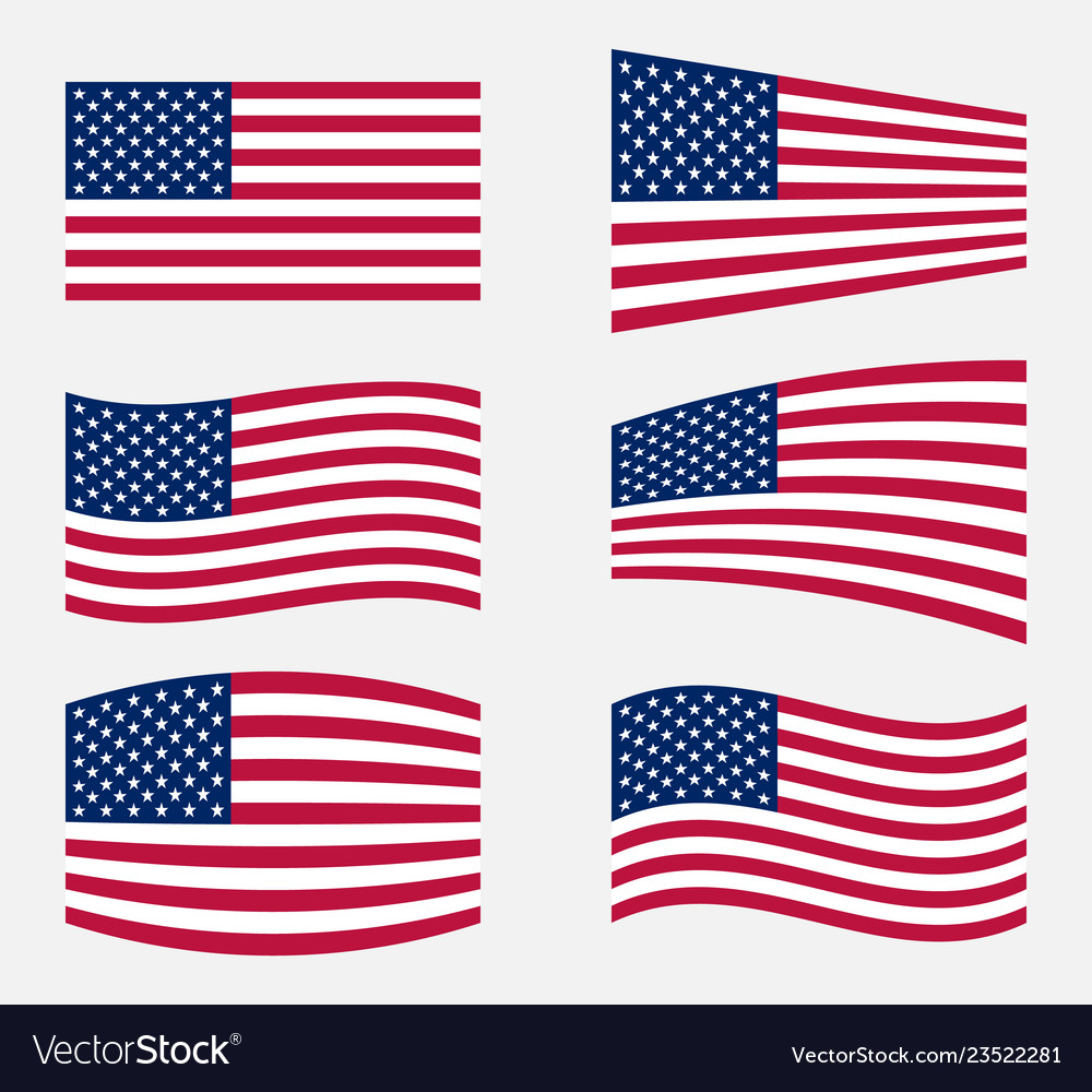 Usa flag official colors