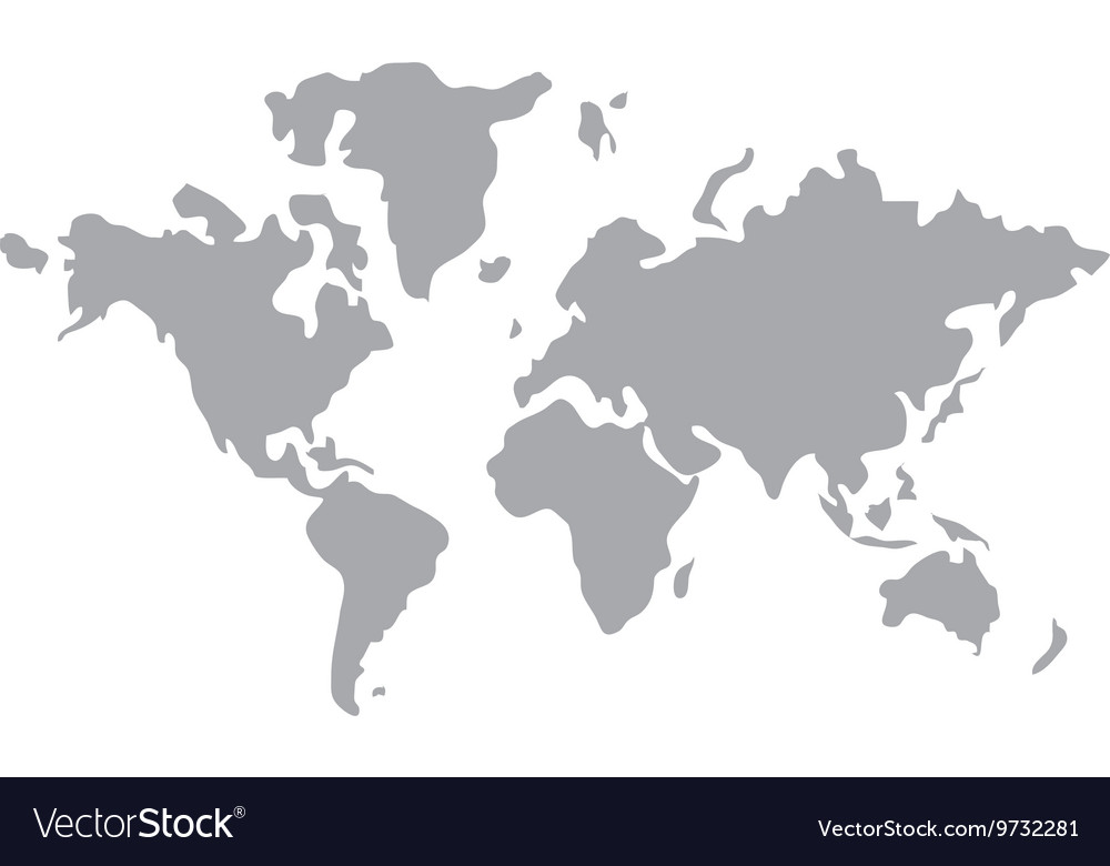 World map globe earth icon royalty free vector image world map globe earth icon vector image gumiabroncs Gallery