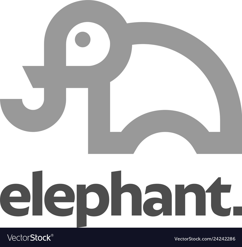 Elephant logo design inspiration
