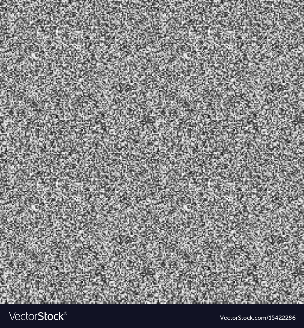 Glitch television noise background vector image