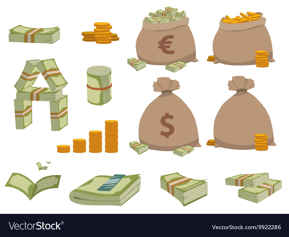 Money symbols set
