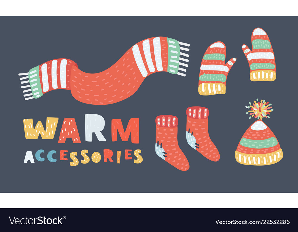 Winter clothes set