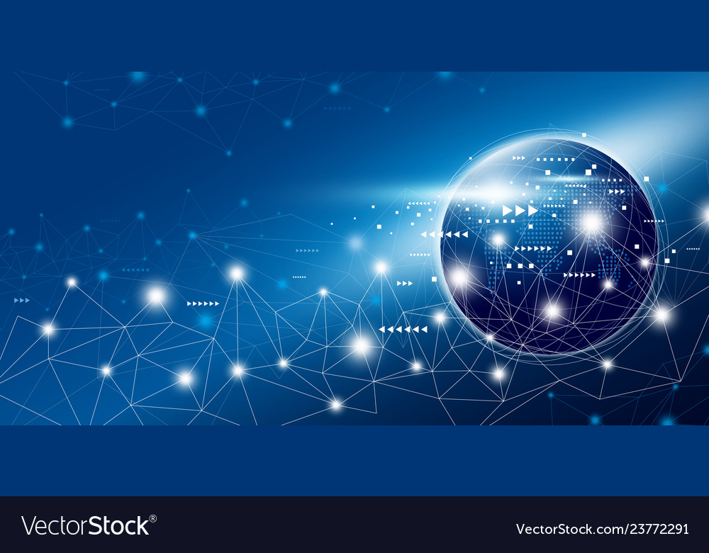 Global network connection design with copy space