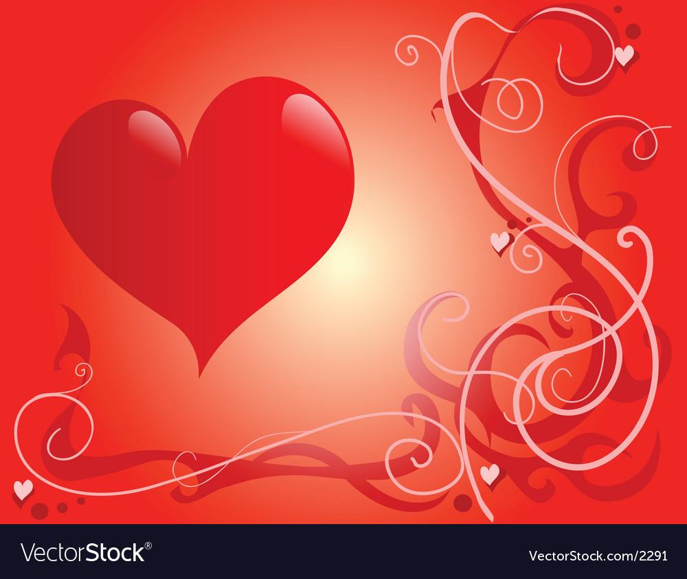 St valentines vector image