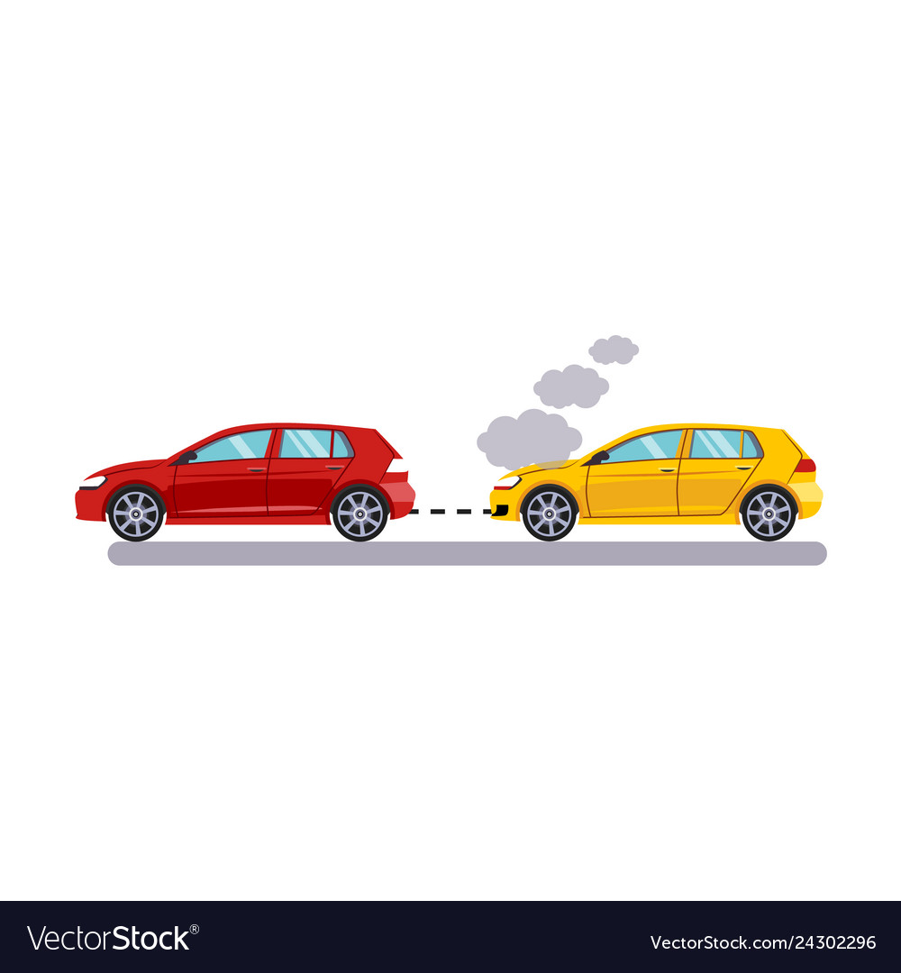Car and transportation towing cars