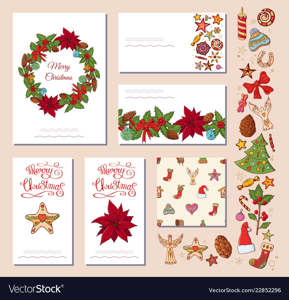 Festive templates with different traditional