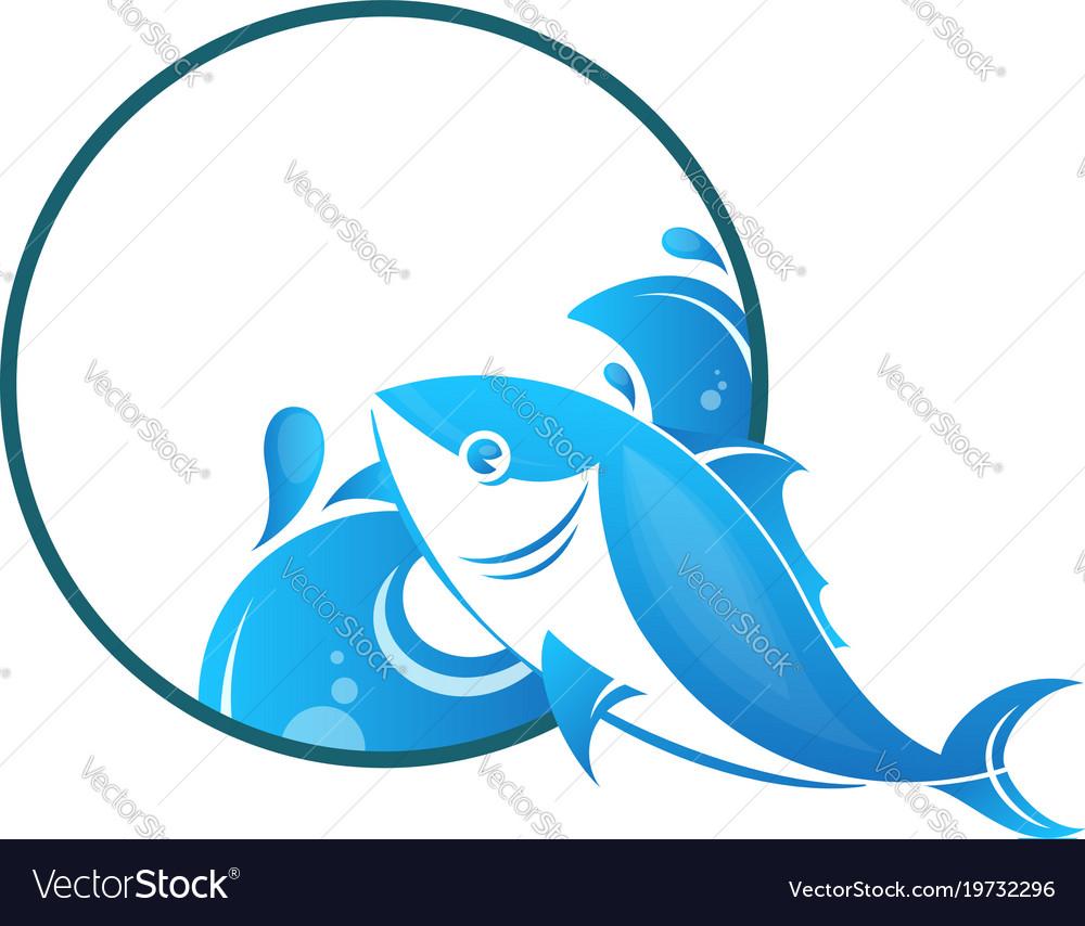 Fish on waves