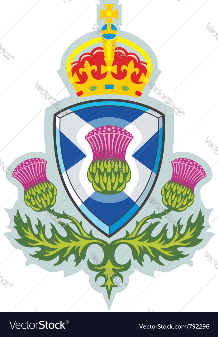 Symbol Of Scotland Royalty Free Vector Image Vectorstock