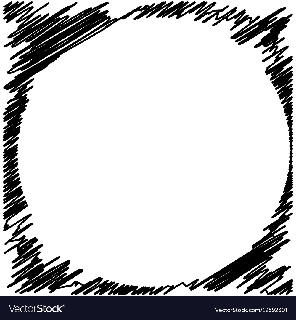grunge black ink border frame background vector image rh vectorstock com grunge striped background vector free grunge vector backgrounds