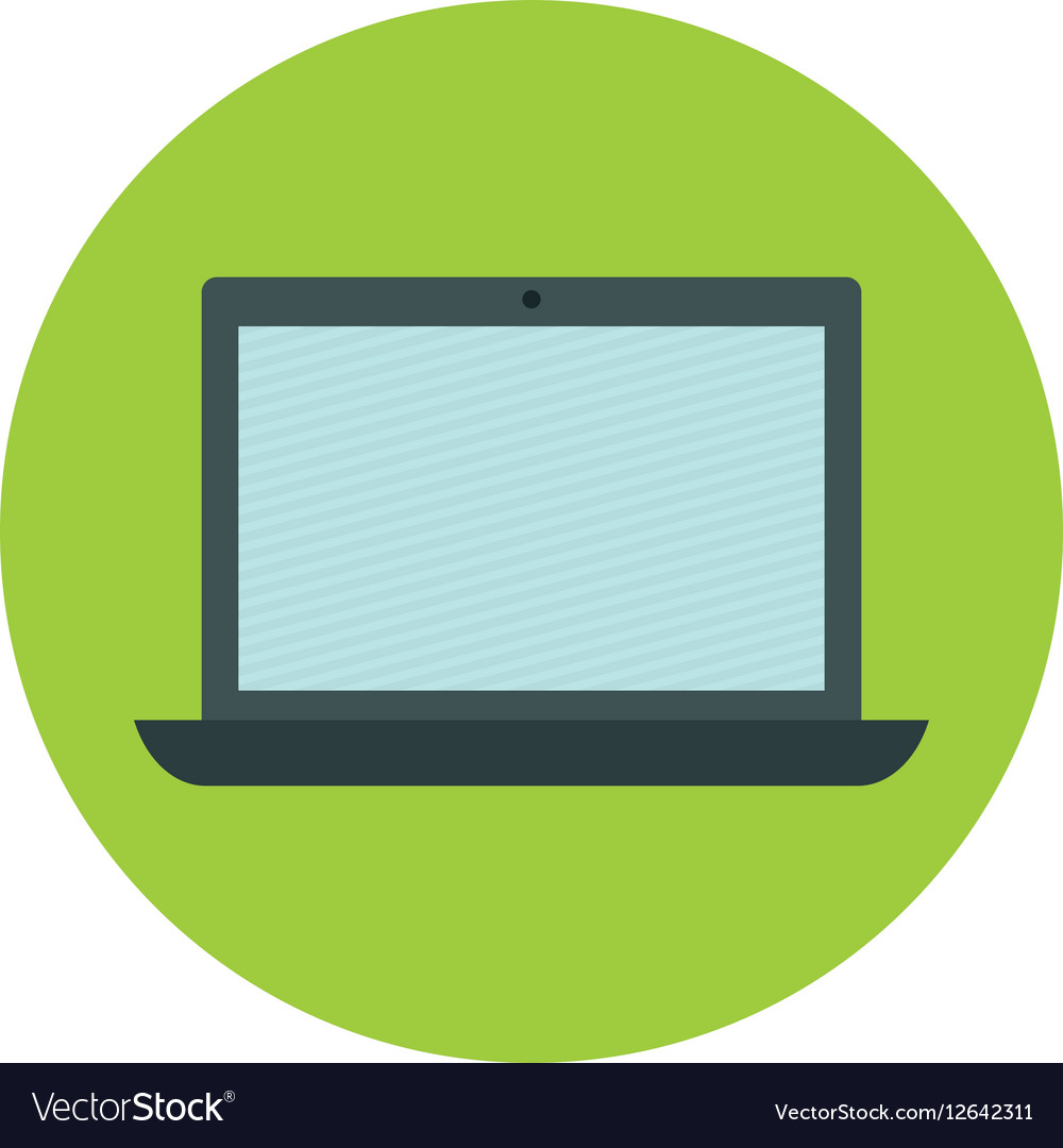 Open laptop icon image
