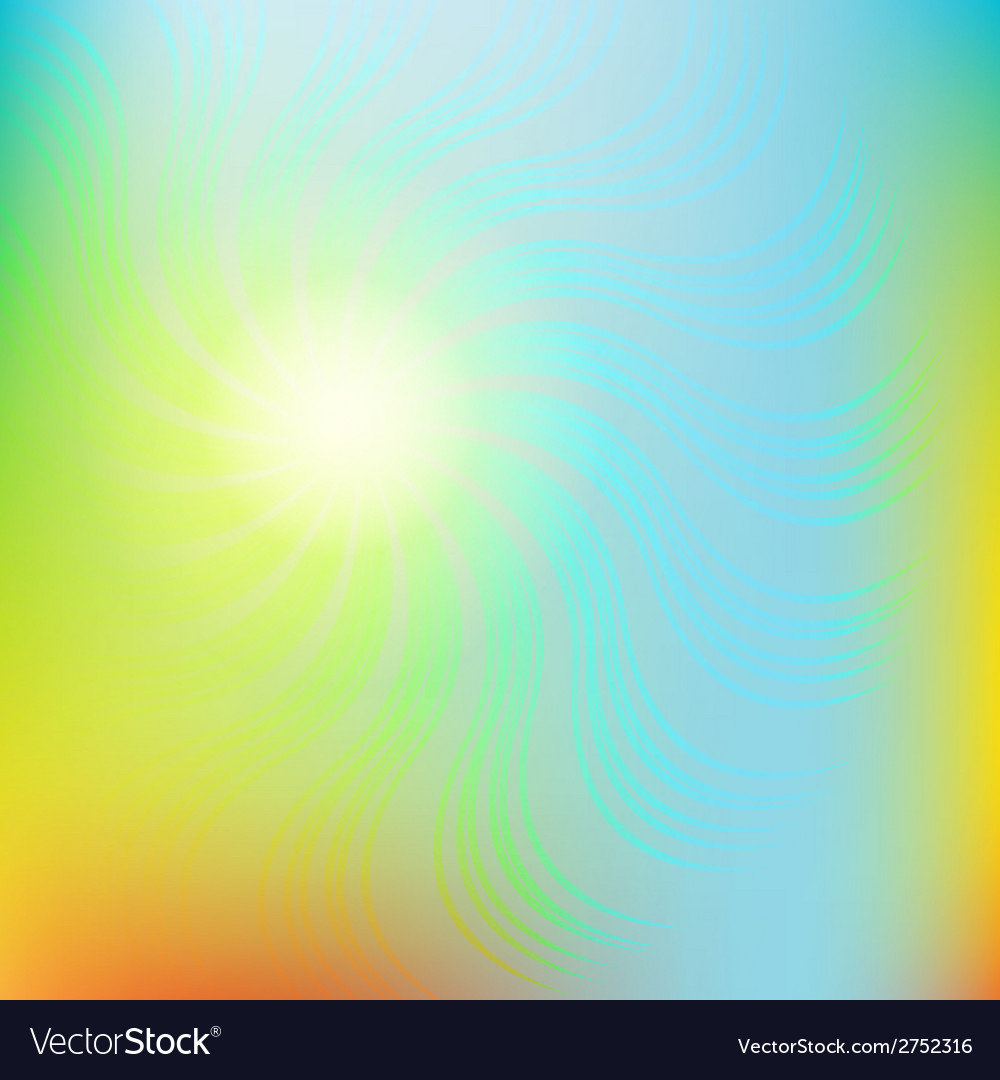 Abstract swirl colorful background