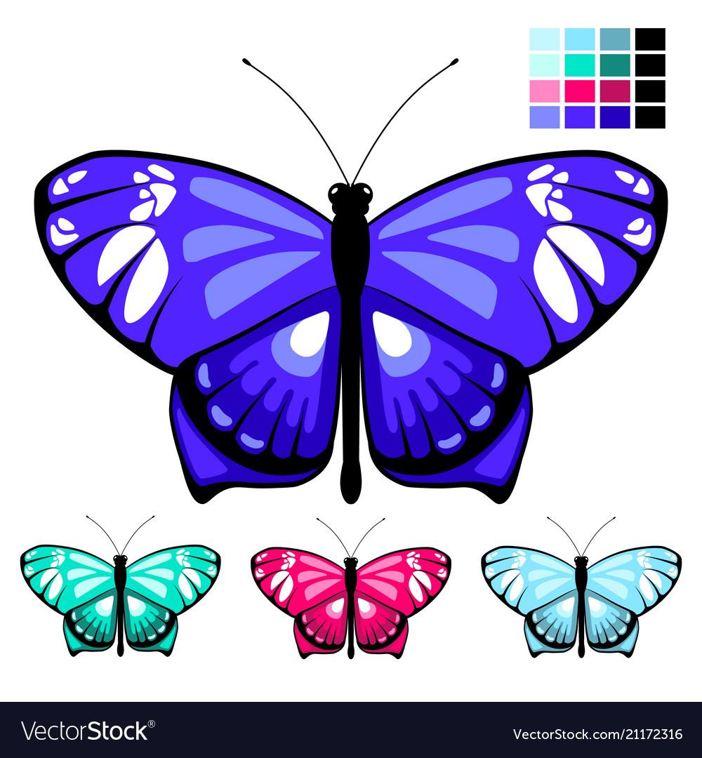 Butterfly set 9