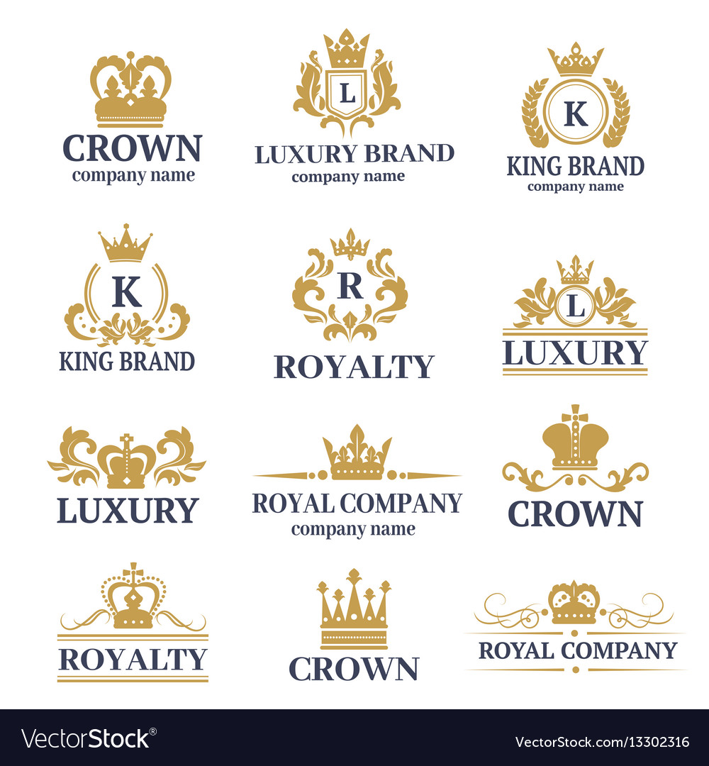 Luxury boutique calligraphy logo best selected