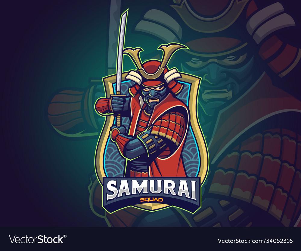 Samurai esports logo for your team