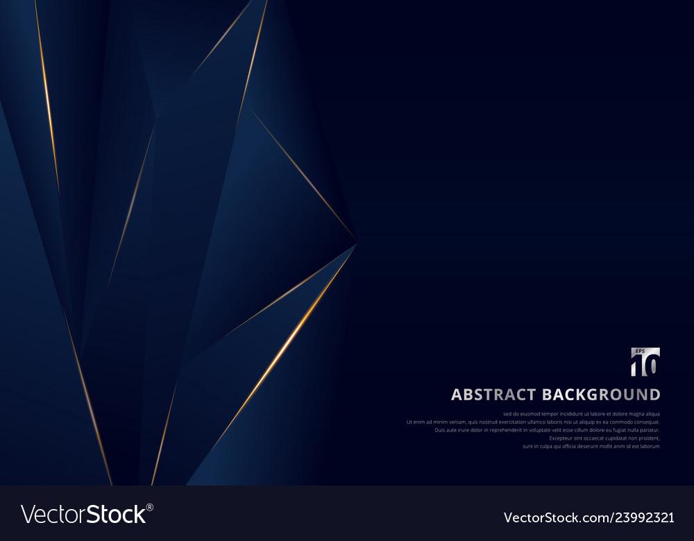 Abstract template dark blue luxury premium