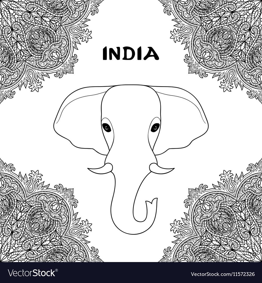 Symbol of India Elephant