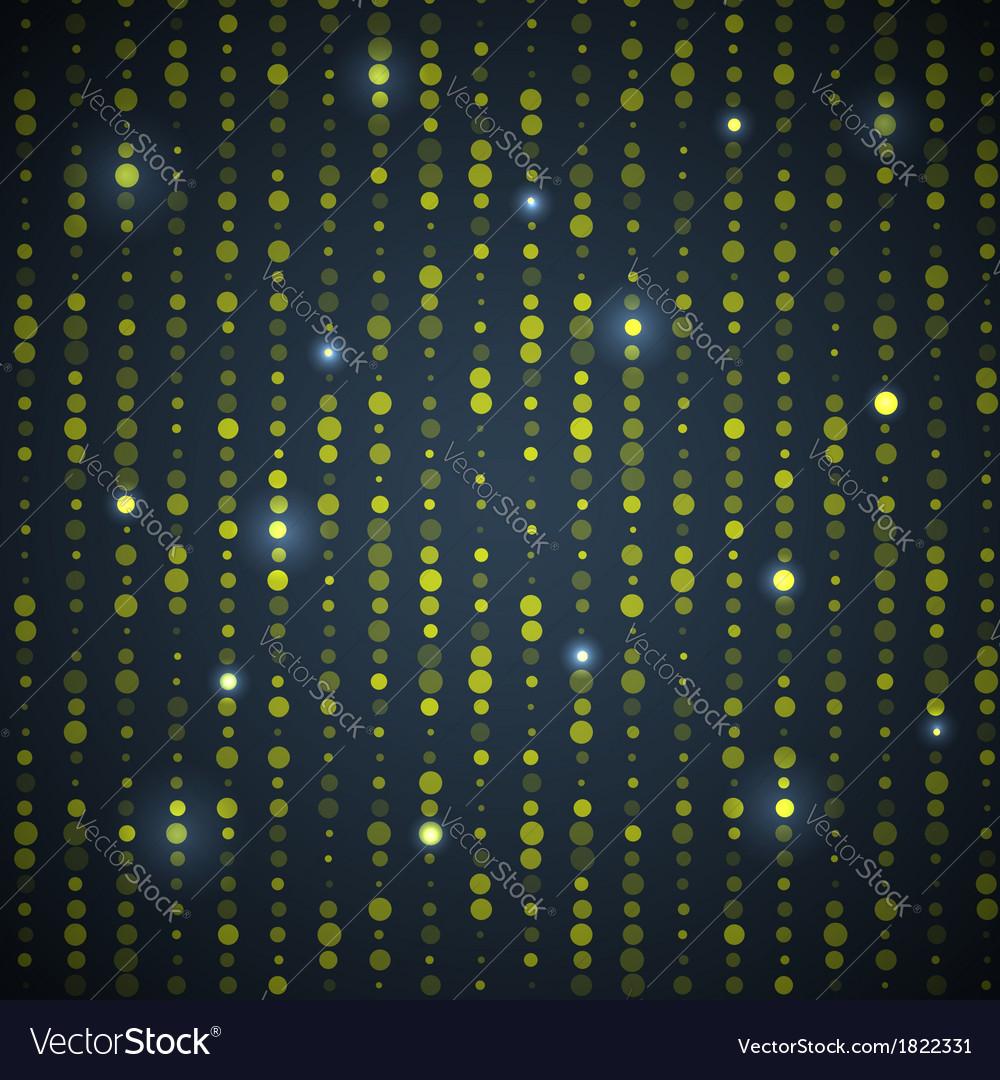 Green Black Dot Pattern