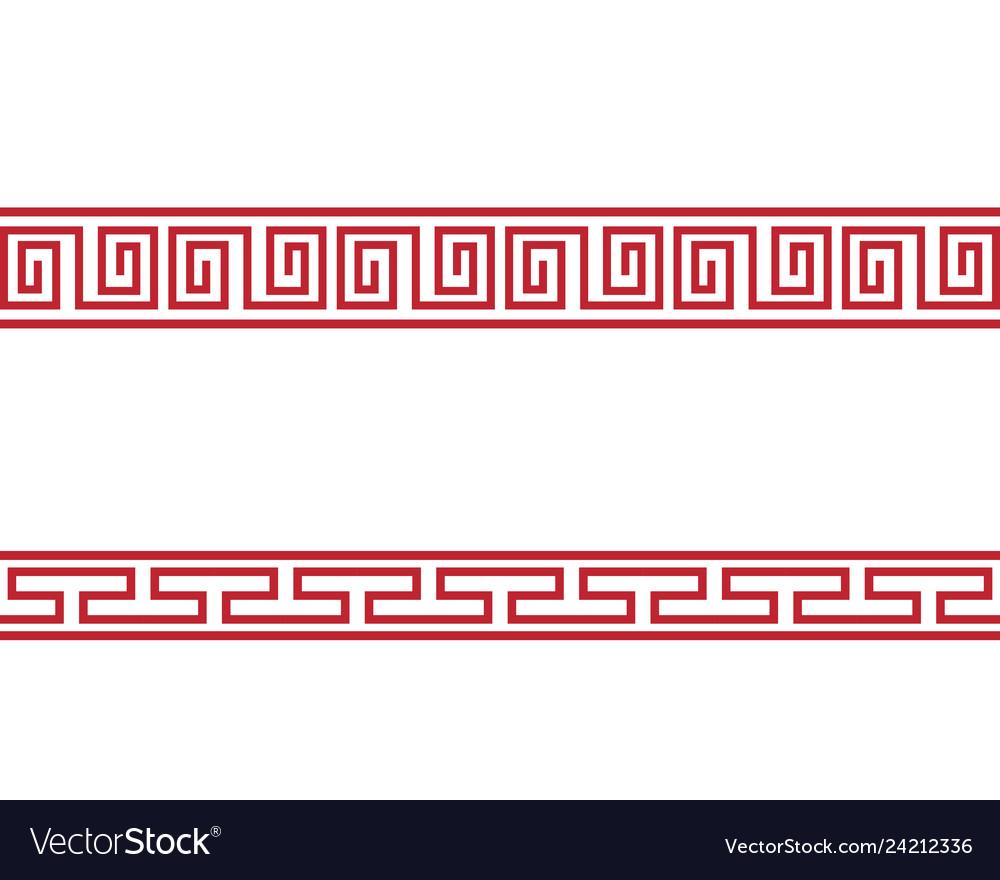 Chinese border design
