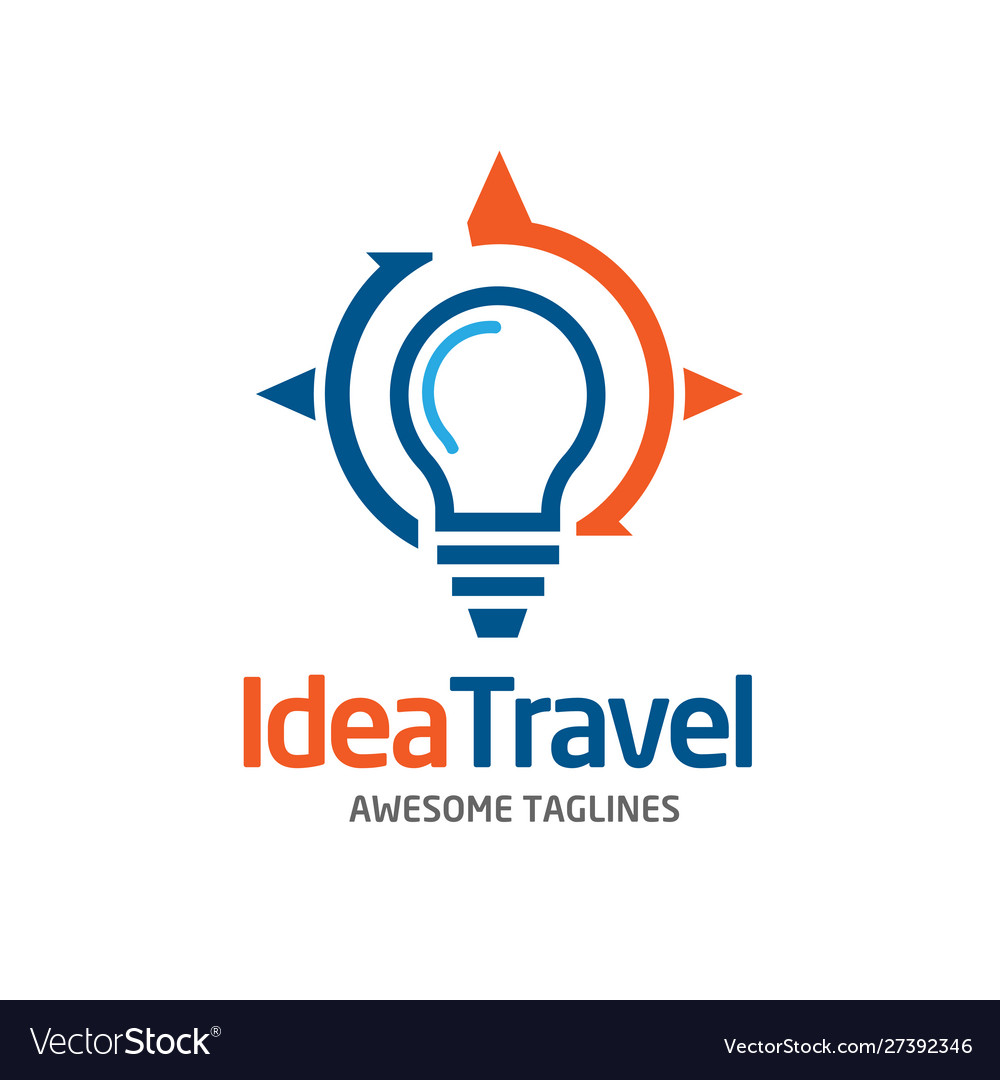 Idea travel solution logo