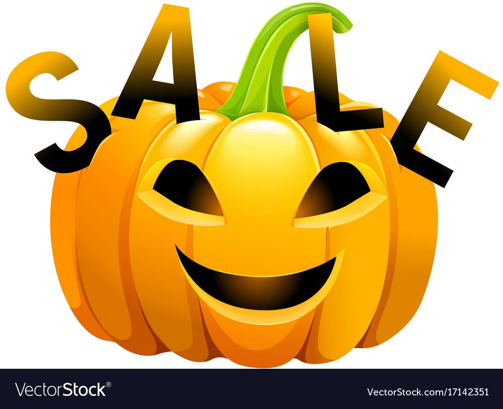 Halloween pumpkin sale