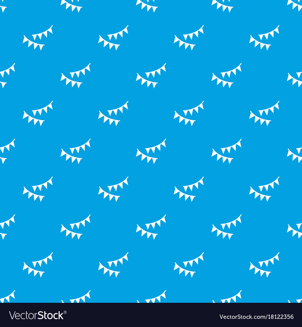 Holiday flags pattern seamless blue
