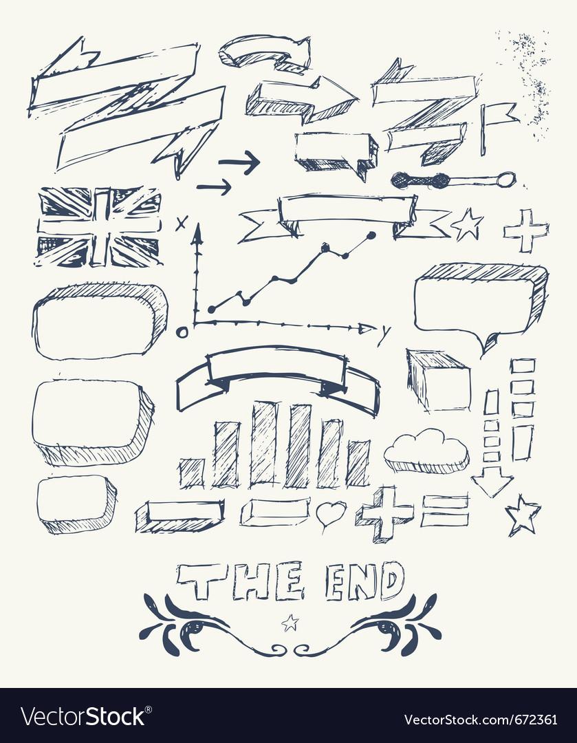 Hand drawn infographics
