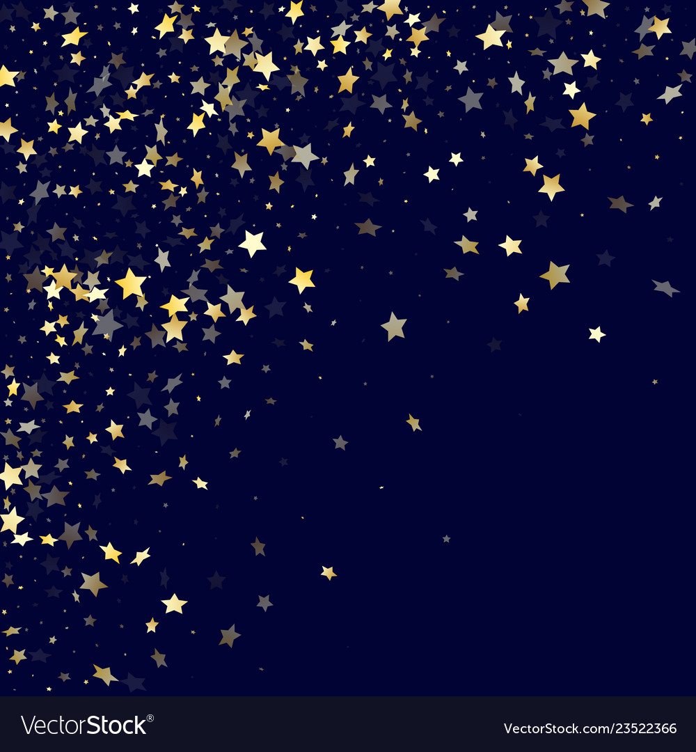 Gold gradient star dust sparkle background