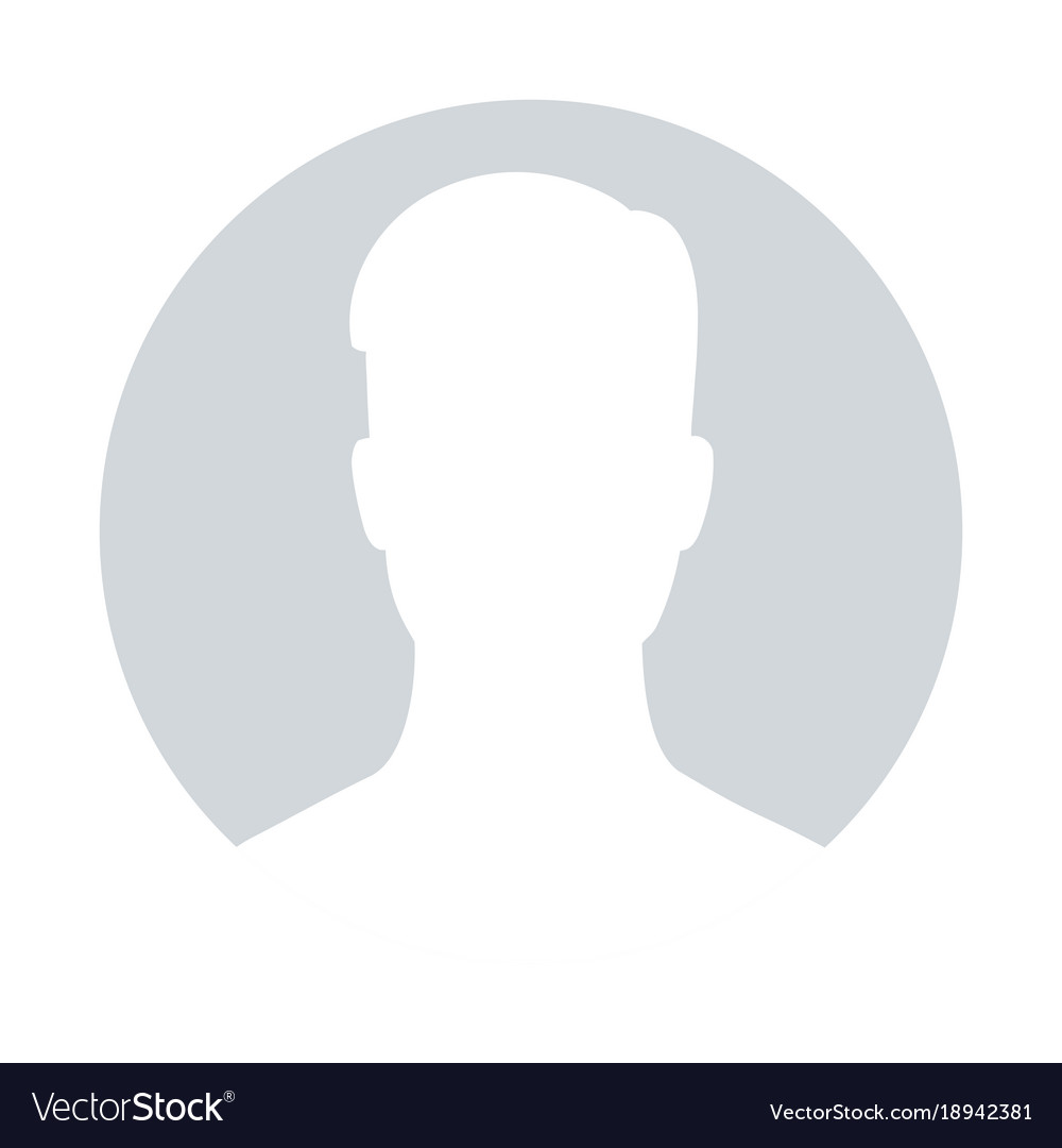 Default Avatar Profile Icon Royalty Free Vector Image
