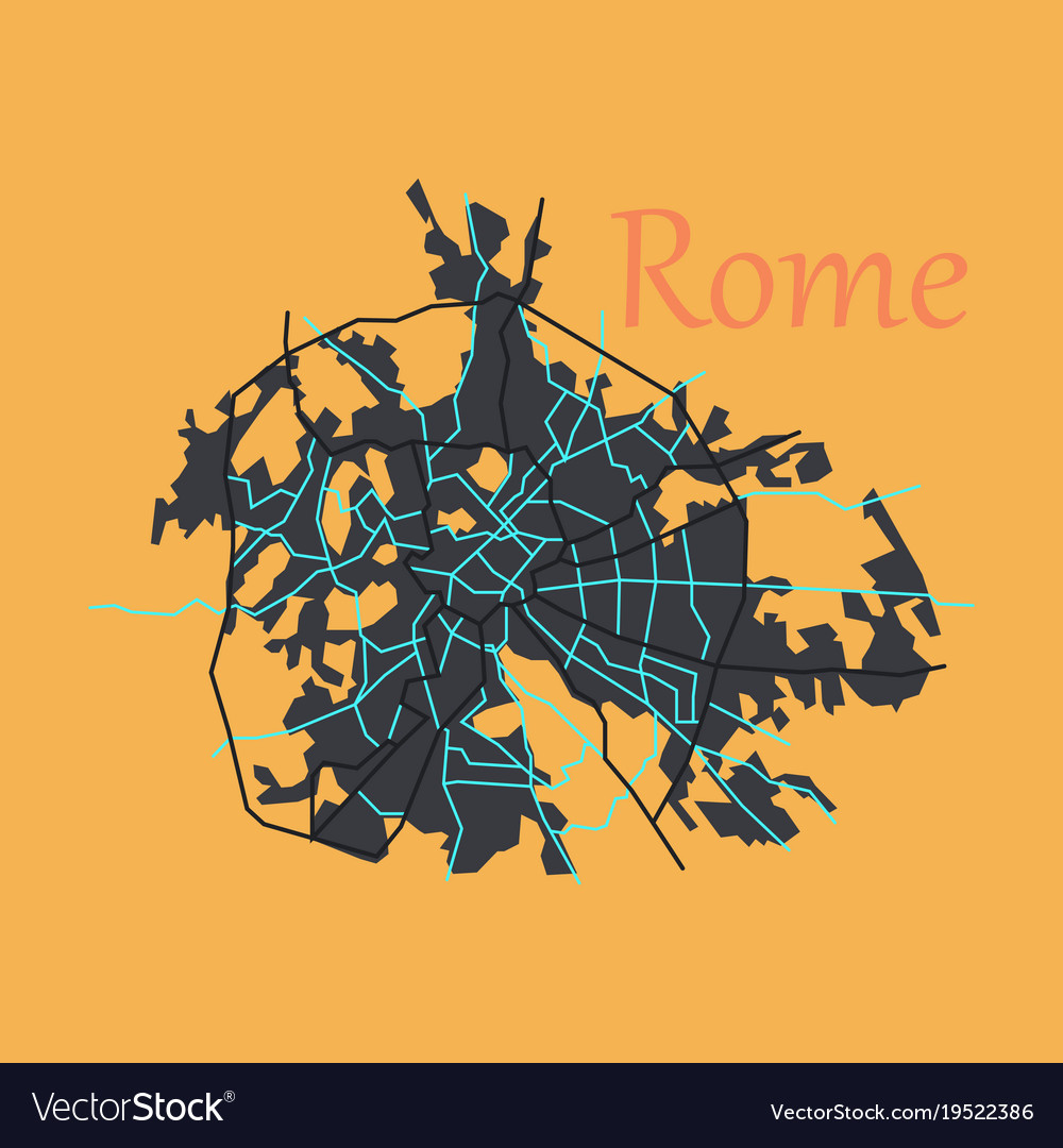 Rome City Map Pdf