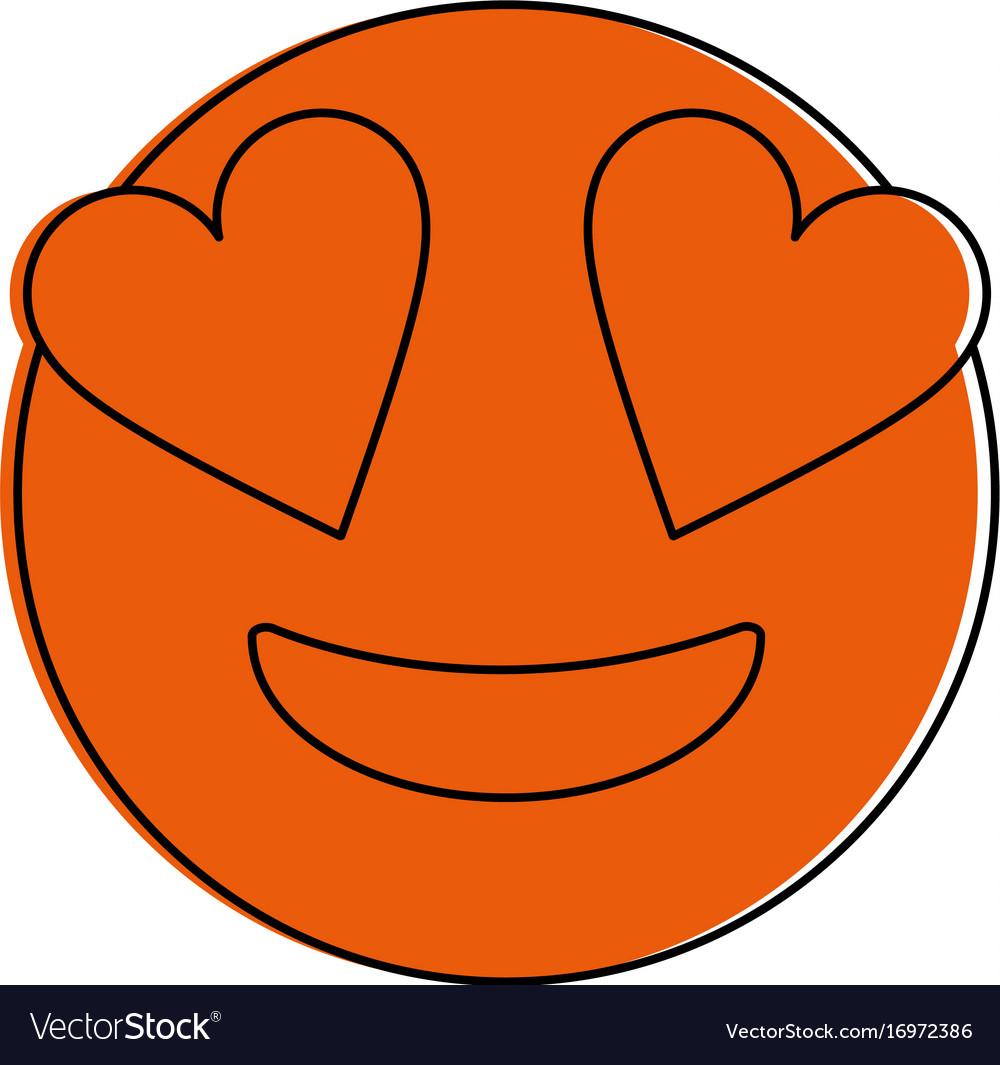 In love emoji design