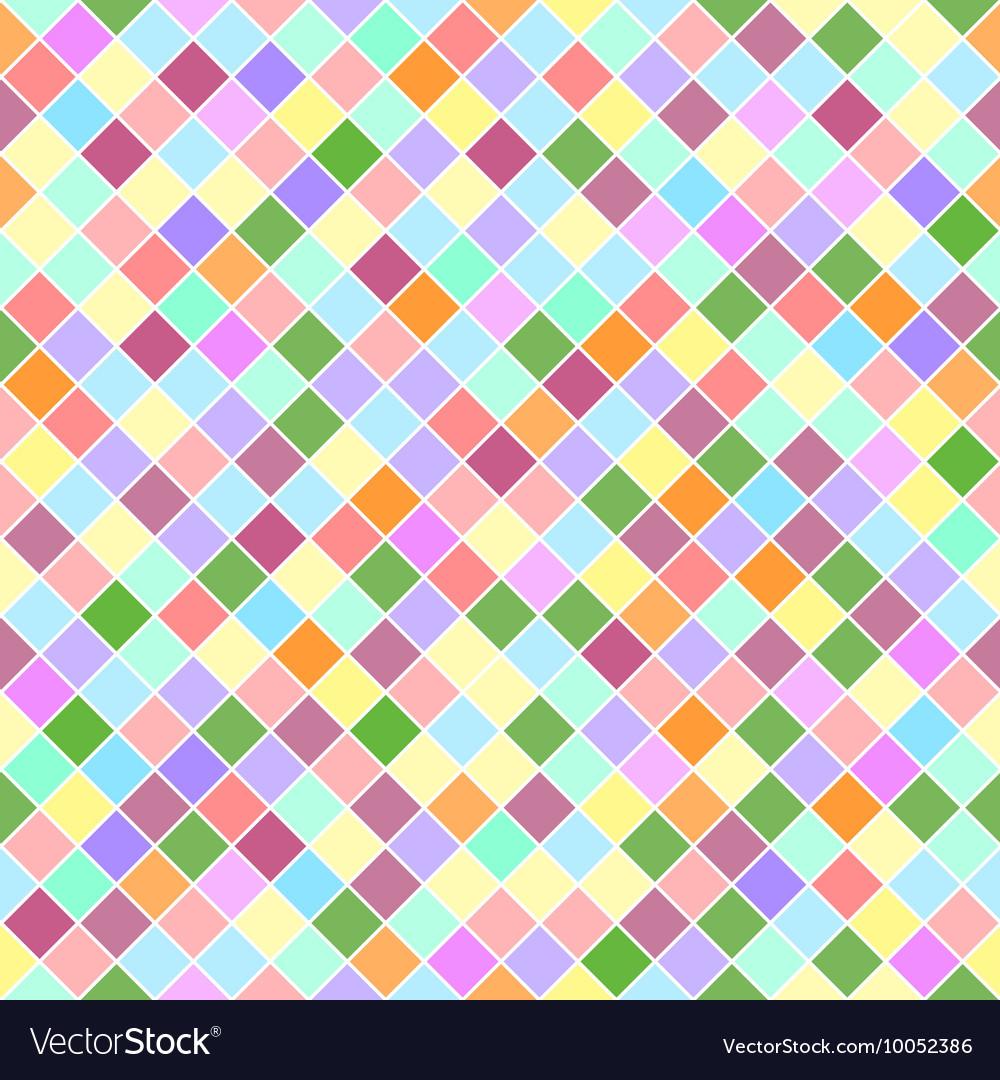 Squares Mosaic Pattern vector image