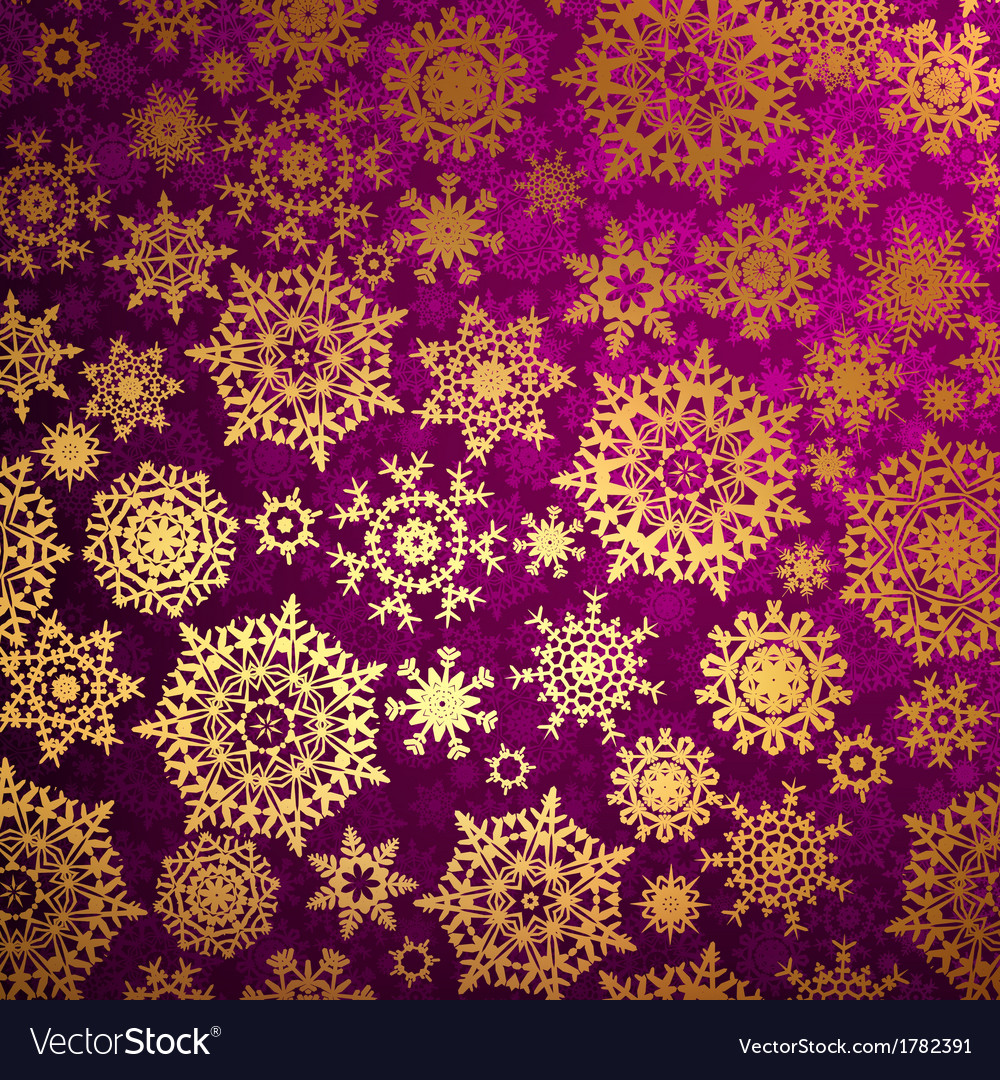 Christmas pattern snowflake background EPS 10