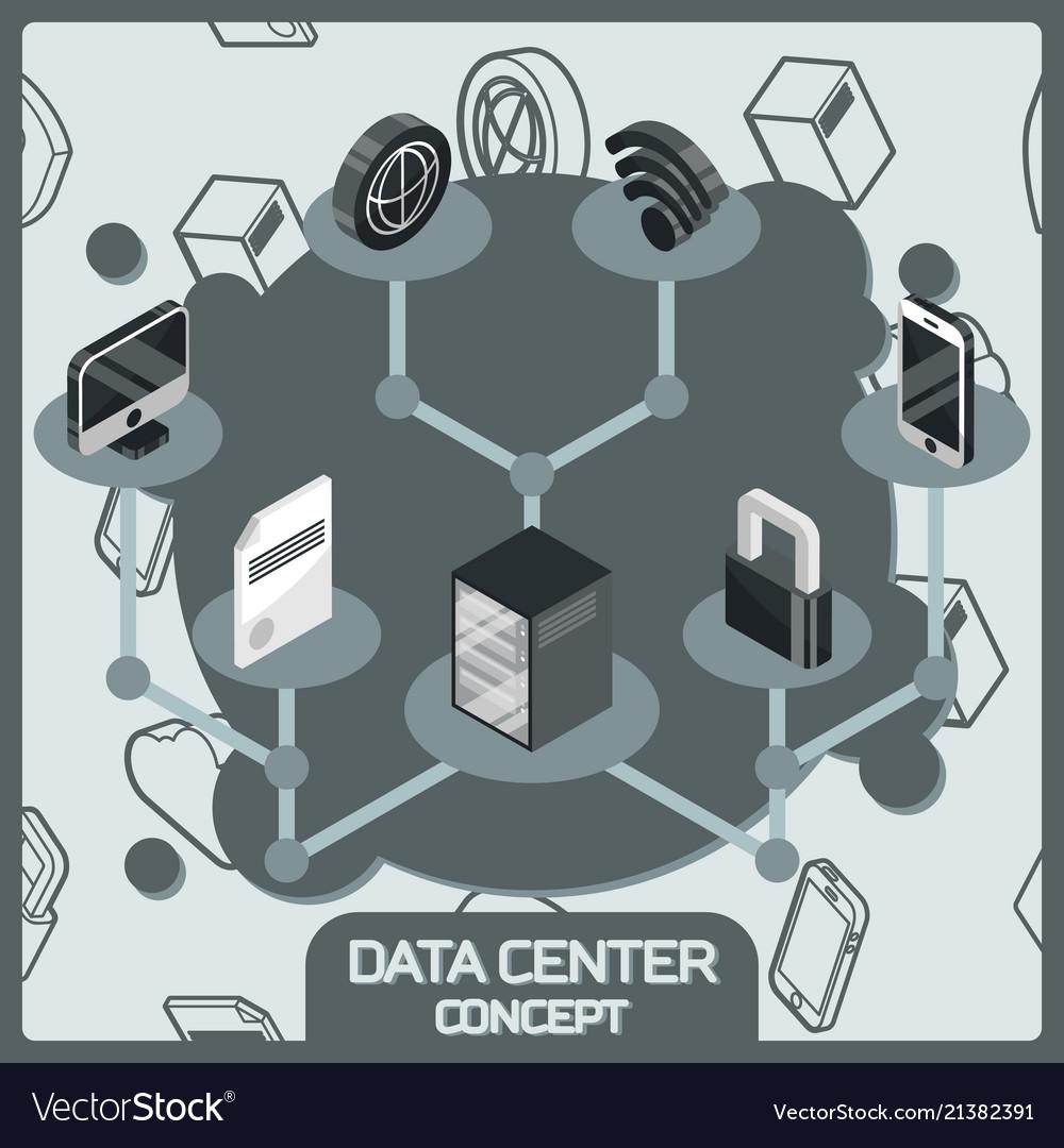 Data center color concept
