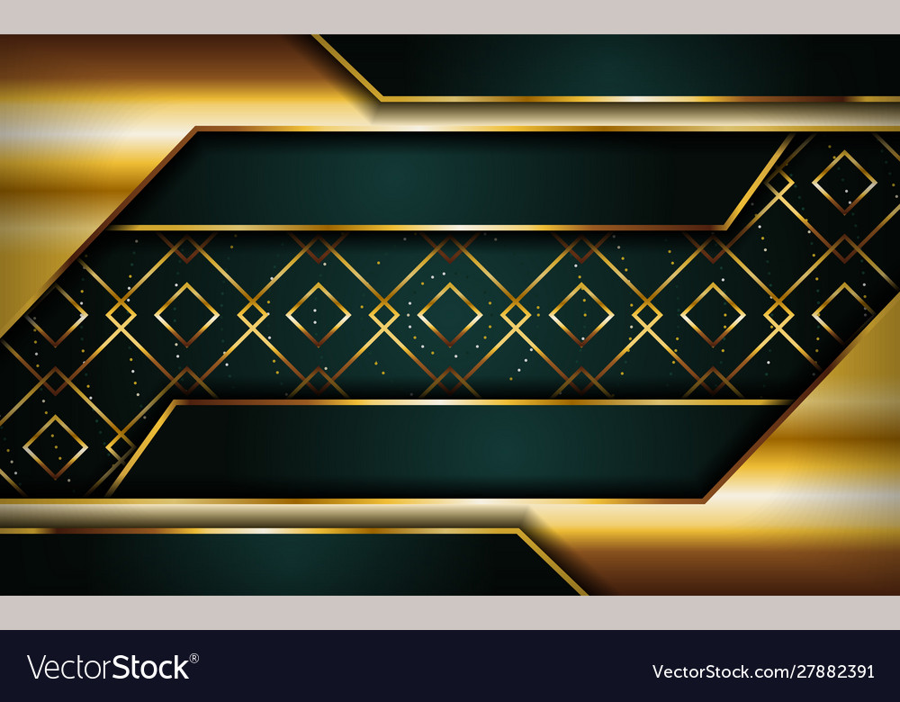 Luxurious premium navy green abstract background