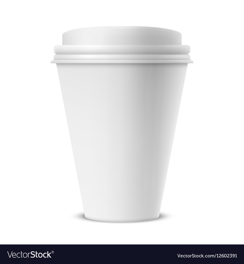 paper coffee cup - coffee drinker