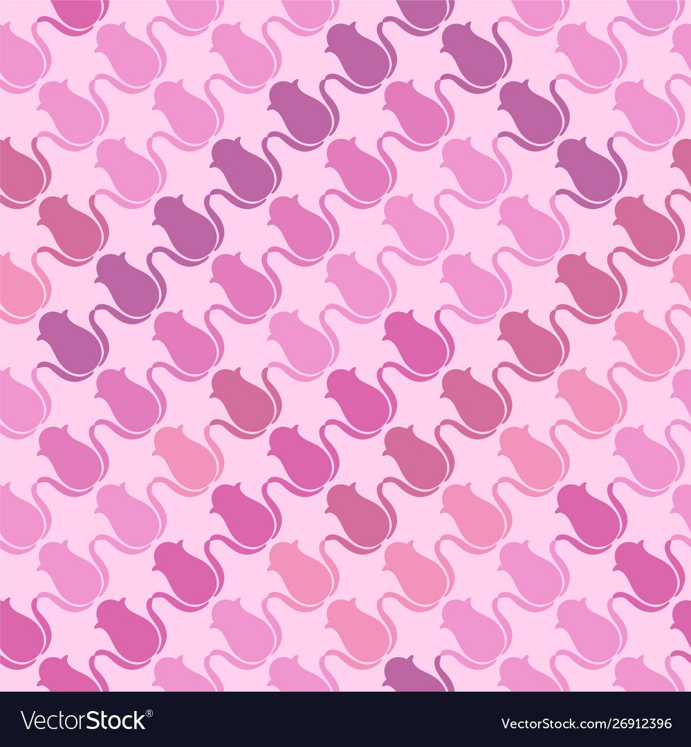 Shades pink and purple elements vector image