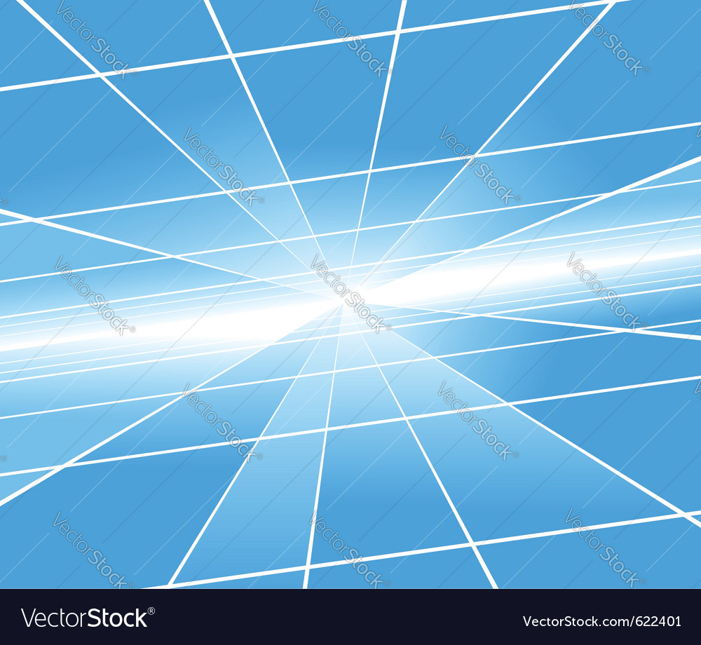 Perspective background vector image