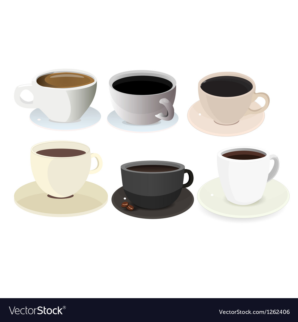 321 Coffee Cup Icon Set