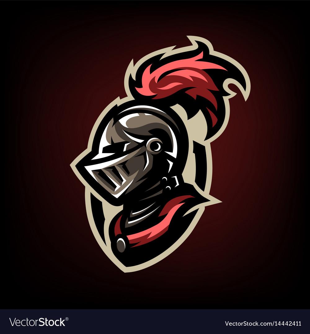 Royalty Free Knight Helmet Clip Art, Vector Images ...  Knights Helmet Logo