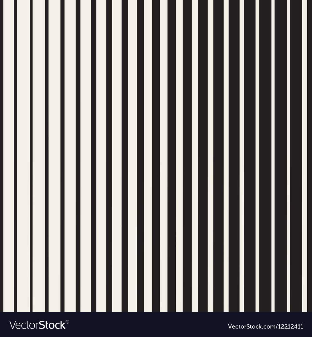 Seamless Black and White Halftone Vertical vector image