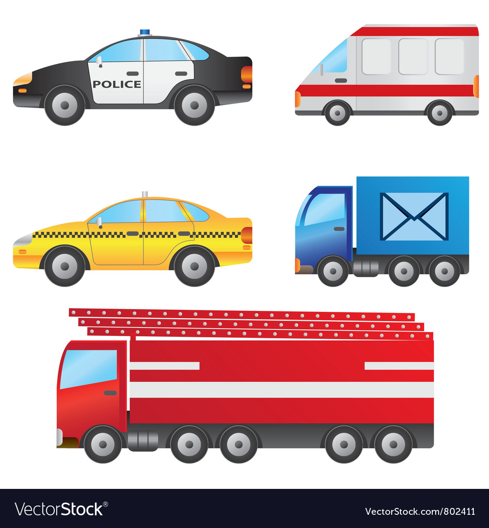 Different Types Of Cars >> Set Of Different Types Of Cars