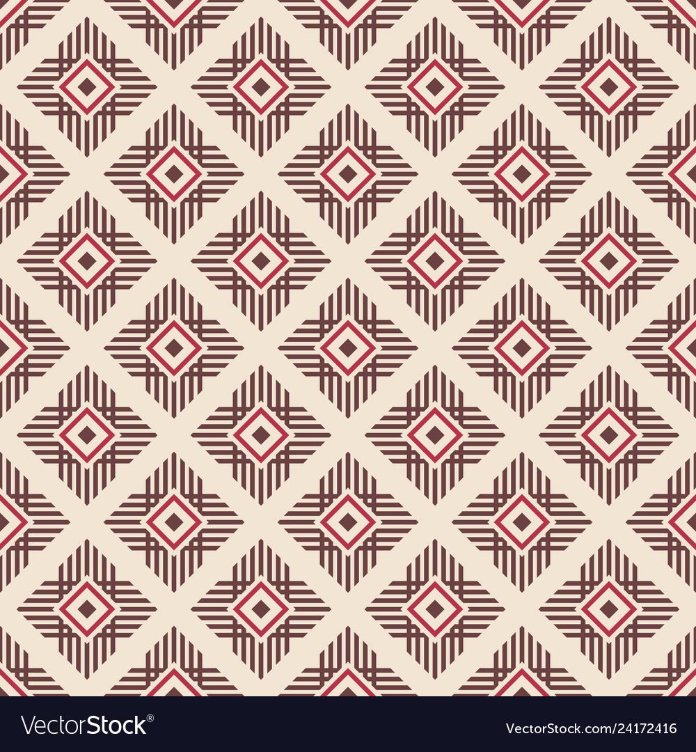 Abstract ethnic geometric pattern regularly
