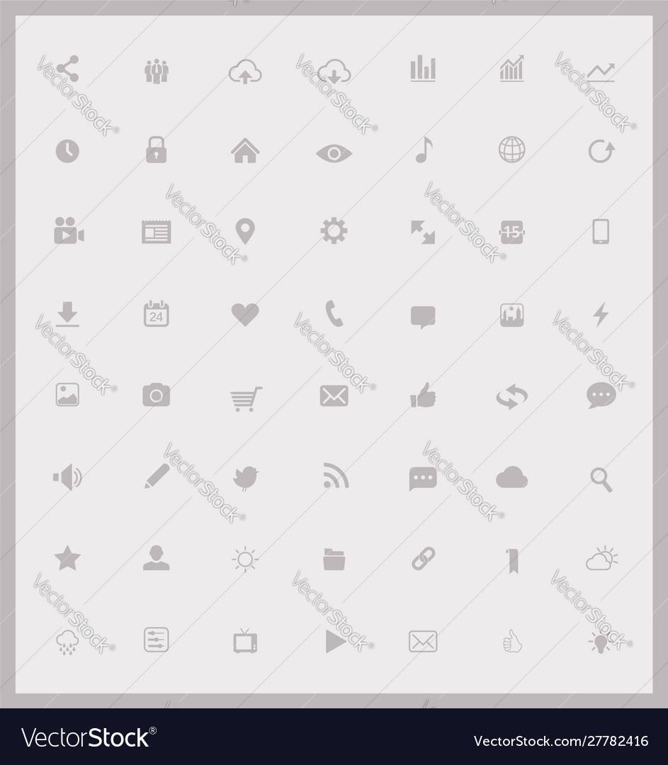 Set web and mobile icons