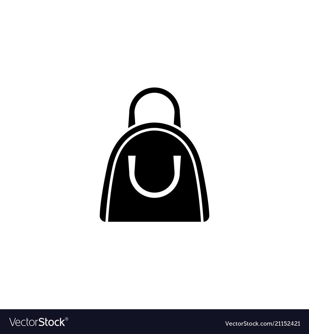 Handbag flat icon