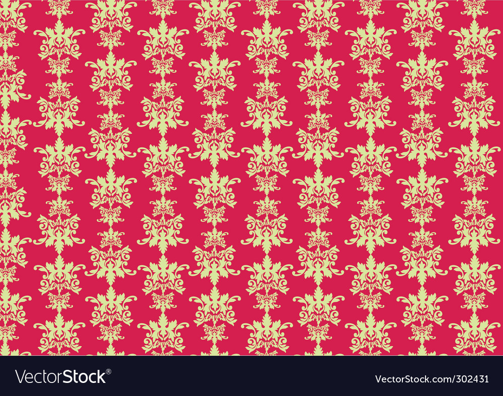 Retro swirl pattern vector image