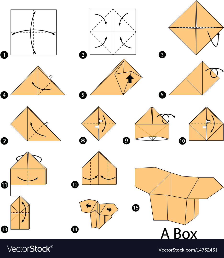 how to do an origami box how to do an origami box easy origami box ... | 1080x935